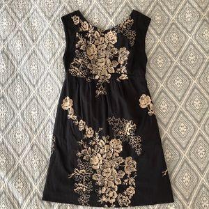 J. Crew vintage embroidered dress
